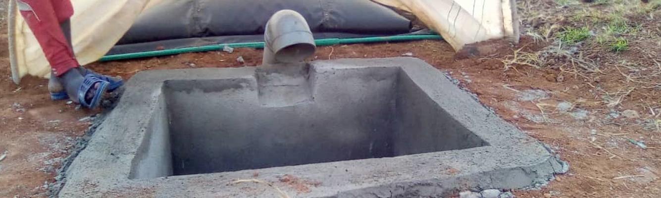 BCDO Installs a Biogas System
